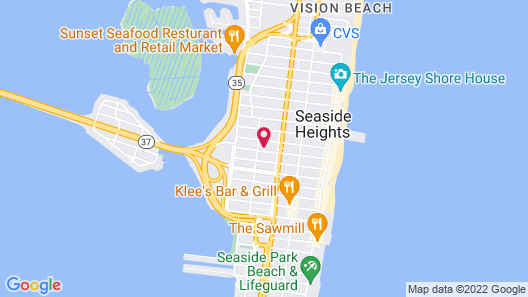 Bay Breeze Motel Map
