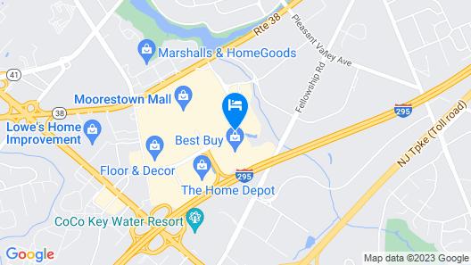 Homewood Suites by Hilton Philadelphia/Mt. Laurel Map