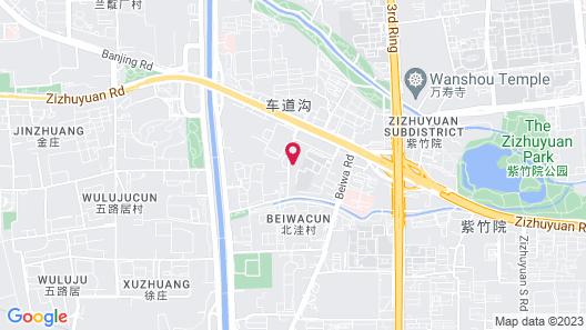 Shangri-La Beijing Map
