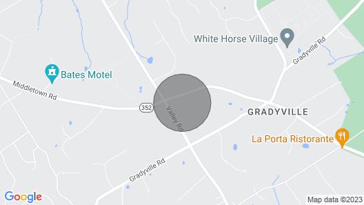Luxury Large Home in Edgemont Glen Mills Area Map