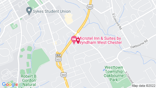 Microtel Inn & Suites by Wyndham West Chester Map