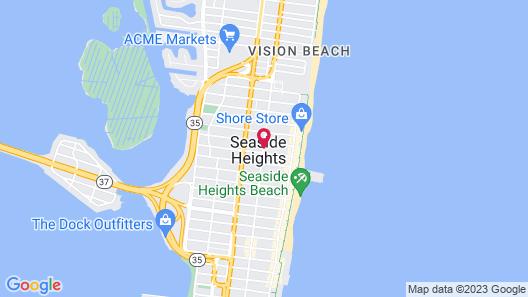 Coral Sands Motel Map