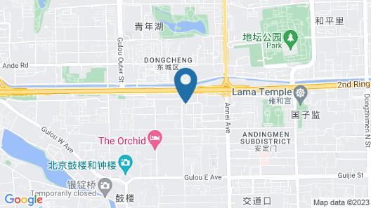 Garden Inn Beijing Map
