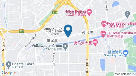 The Westin Beijing Chaoyang Map