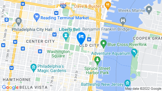 Best Western Plus Independence Park Hotel Map