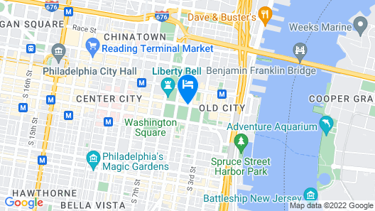 Renaissance Philadelphia Downtown Hotel Map