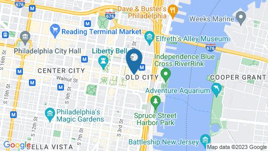 Apple Hostels Map
