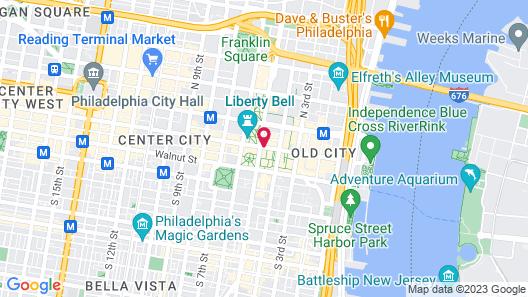 Kimpton Hotel Monaco Philadelphia Map