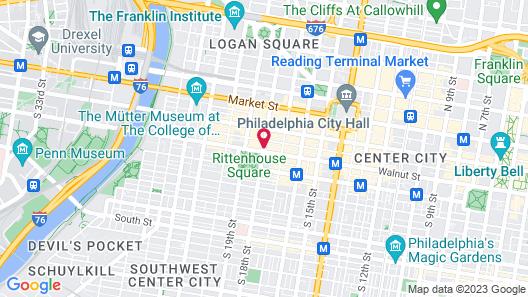 AKA Rittenhouse Square Map