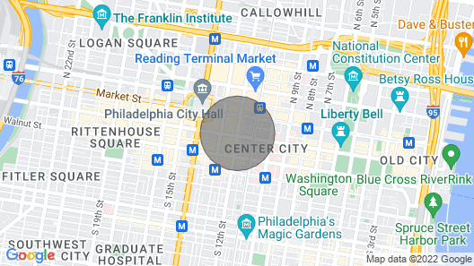 Stay Alfred at City Center Map