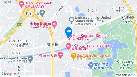 Four Seasons Beijing Map