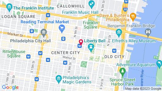 Renaissance Properties - 728 Market Street Map