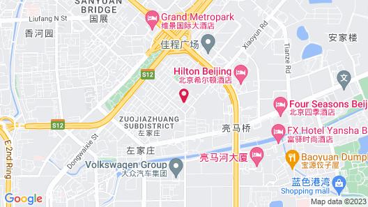 Hilton Beijing Map