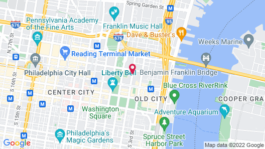 Wyndham Philadelphia Historic District Map