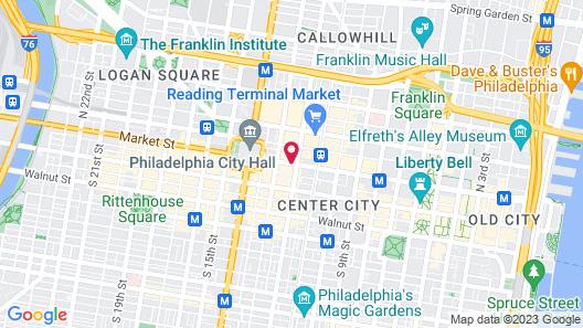 Loews Philadelphia Hotel Map