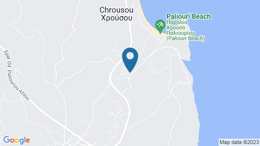 Chrousso Village Map