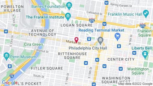 Sonesta Philadelphia Rittenhouse Square Map