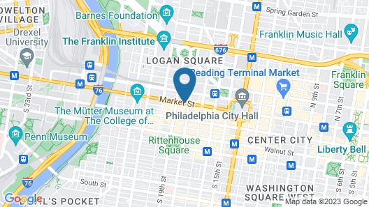 Sonesta Philadelphia Rittenhouse Square Map