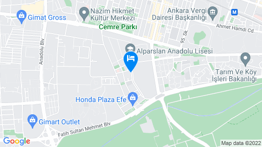 TZOB Otel Map