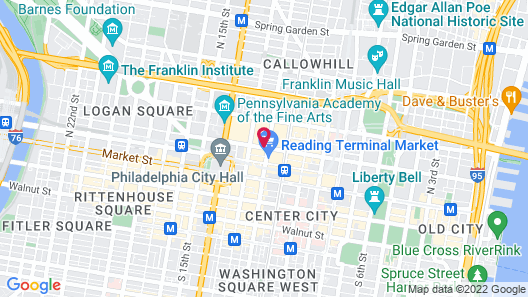 Home2 Suites by Hilton Philadelphia - Convention Center, PA Map