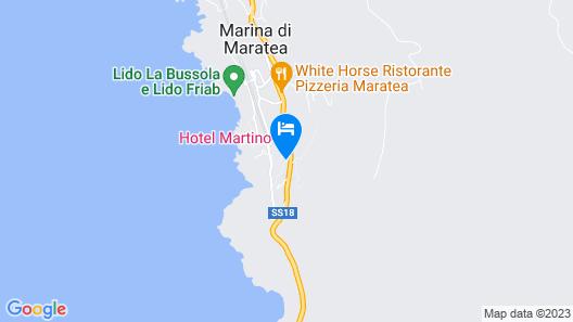 Hotel Martino Map