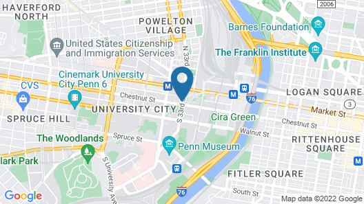 The Study at University City Map