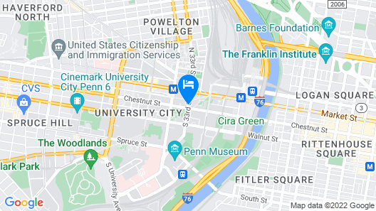 The Study at University City Map
