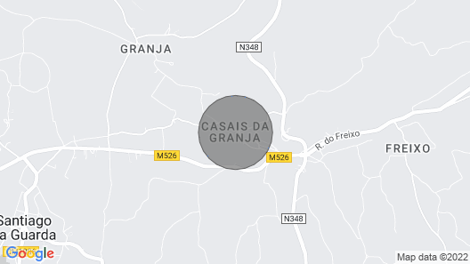 Unit Accommodation Casais da Granja Map