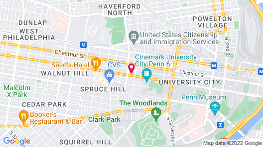 Homewood Suites by Hilton University City Map