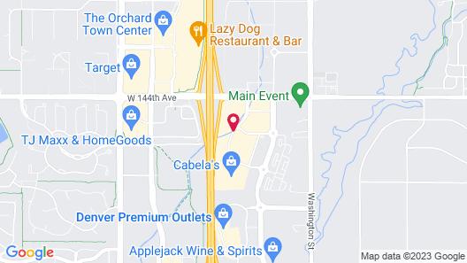 Hilton Garden Inn Denver/Thornton Map