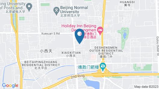 Holiday Inn Beijing Deshengmen, an IHG Hotel Map
