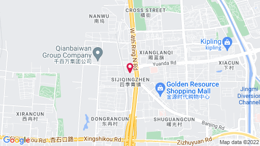 Four Points by Sheraton Beijing, Haidian Map