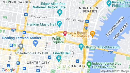 Metroflats at 509 Vine Street Map