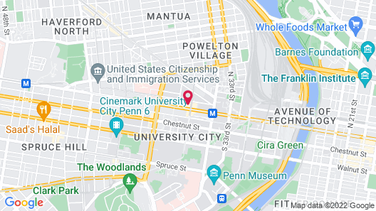 Coral Homes - Suites in University City Map