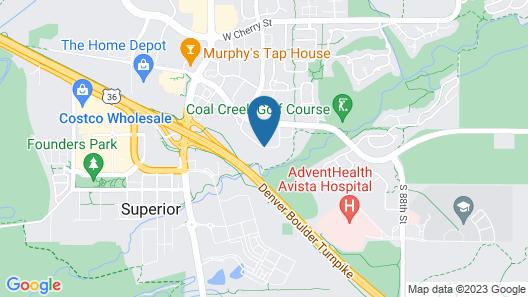 Residence Inn by Marriott Boulder Broomfield Map