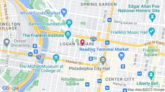 The Logan Philadelphia, Curio Collection by Hilton Map