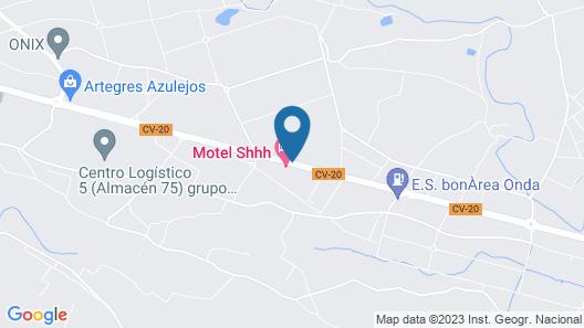 Motel Shhh Map