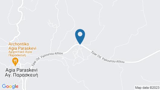 Akritas Ef Zin Villas & Suites Map