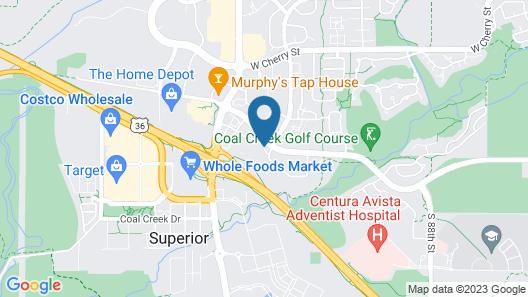 La Quinta Inn & Suites by Wyndham Denver Boulder-Louisville Map