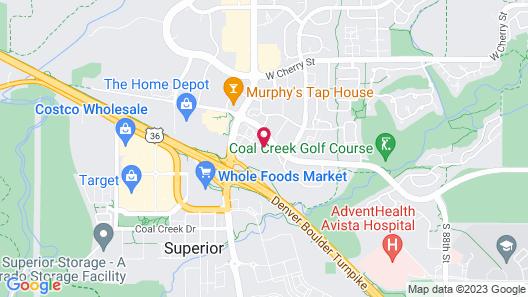 Hampton Inn Boulder - Louisville Map