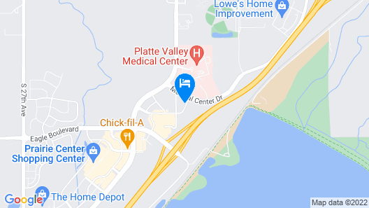 Comfort Inn & Suites Denver Northeast Brighton Map