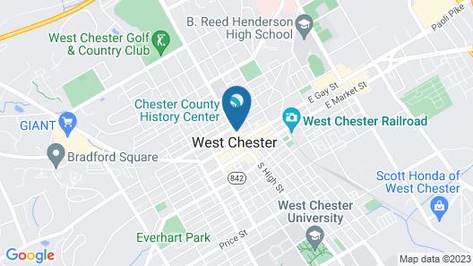 Hotel Warner Map