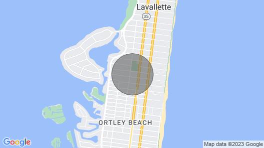 Lavallette Beach Home W/rooftop Deck & Tiki Bar Close to Beach -wifi, C-a/c Map