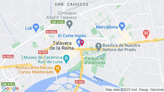 Be Live City Center Talavera Map