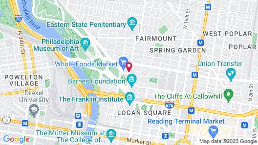 Rodin Square Flats Map