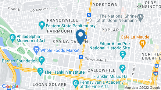 The Madison, Loft ,5 min Center City, Gym, Hot tub & Pool Map