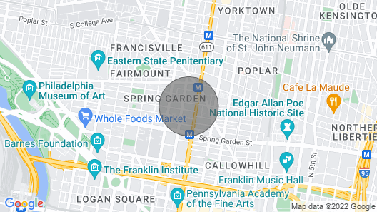 The MADISON, Loft ,5 min Center city Map