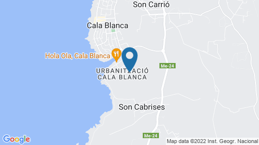 Globales Cala Blanca Map