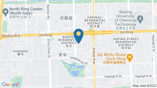 Sheraton Grand Beijing Dongcheng Hotel Map