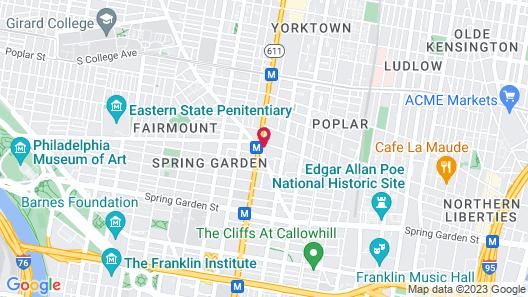 Divine Lorraine Apartment Hotel Map